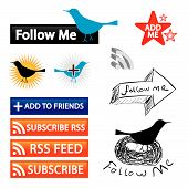 Follow-Me Blog-Buttons