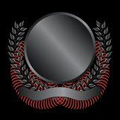 Black Memorial Emblem
