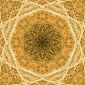 Seamless Symmetric Golden Lines Texture