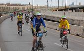 Riders fill Brooklyn Queens Expressway