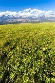 Western part of Vysoke Tatry (High Tatras), Slovakia