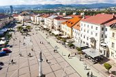 SNP Square, Banska Bystrica, Slovakia