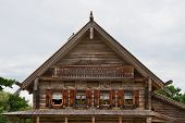 Old Russian Wooden House