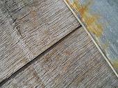 Old Wood Barrel Diagonal Texture