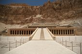 Hatshepsut temple at west bank of Luxor, Egpyt