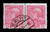 Austria stamp 1908