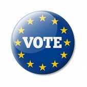 Badge Europe Vote