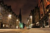 Edinburgh night view