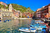 Beautiful Italian coastal village