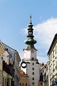 bratislava in the slovak republic to the european union. michalestor