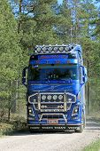 Volvo FH16 750 Truck On Rural Road