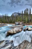 Kicking Horse River In Yoho National Park, Canada