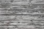 Old wooden empty grey background.