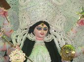 stock photo of durga  - KOLKATA - JPG