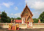 temple at wat Rong saeng