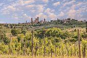 Countryside In San Gimignano, Tuscany, Italy