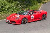 Ferrari F430 Scuderia 16M In Ferrari Tribute To Mille Miglia 2014