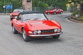 Vintage Fiat Dino Spyder