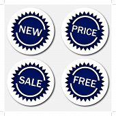 New, price, sale, free