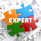 Expert - Concept Multicolor Puzzle.