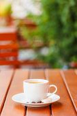 Coffee Served Outdoors
