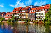Old Town in Bamberg, Germany