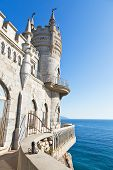 Blue Sky And Swallow's Nest Castle, Crimea
