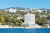 Seafront In Miskhor Resort Area Of Crimea