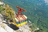Cableway Miskhor - Ai-petri In Crimea