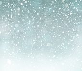 Snow theme background 6 - eps10 vector illustration.