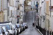 Parisian streets. Montmartre