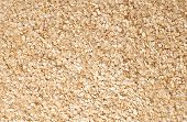 Oat Flakes Background