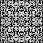 Patterned background.