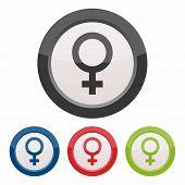 Gender, female icon
