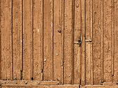 Old Brown Doors Wood Background Texture