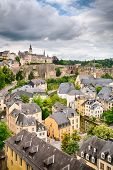 Old Architecture In Luxembourg City