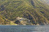 Dionysiou monastery. Mount Athos.