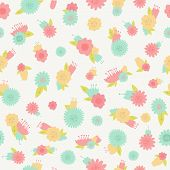 Flower Seamless Background