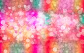 Colourful Bokeh Background