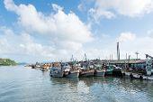 Docking Boats At Phuket, Thailand