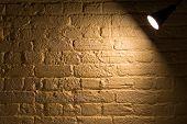Spotlight On A Wall