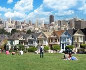 View From Alamo Square San Francisco