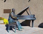 Statue Of Oscar Peterson