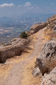 Street of Ancient Corinth.