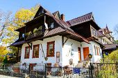 The Family Home Of Bronislaw Czech In Zakopane