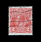 King George V stamp 1913