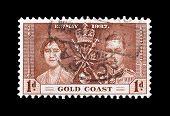 Gold Coast stamp 1937