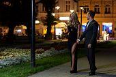 Date Night Walk In The City