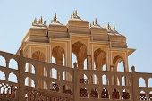 Canopies In Palace Of Winds, Jaipur, India