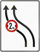 image of traffic rules  - German traffic sign - JPG